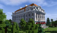 Quartz Hotel Minecraft Project