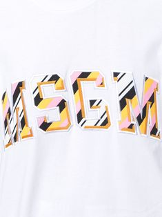 MSGM front logo loose T-shirt