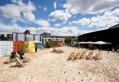 Cant get to the beach this weekend? No problem! Camden Beach opens Saturday 27th July 2013