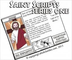 NEW! Saints Scripts Cathletics Craft Kit Series! | Equipping Catholic Families