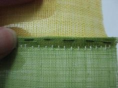This is a tutorial for the technique for Reversible Pojagi. Seam allowances are totally enclosed, so either side can be displayed. This is the technique I used in my white place mats and my red a…