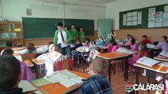 """Elevii din cadrul Şcolii Gimnaziale """"Mircea Vodă"""" Călăraşi au derulat în  propria Şcoala campanii de  conştientizare din cadrul proiectului ..."""