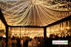 160 feet 400 LED String Fairy Lights Wedding by perfectholiday