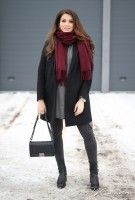 Black and burgundy // Kuopio by Mungolife  #EiKategoriaa, #Other, #Outfits, #ThisAndThat