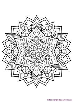 Mandala Free Coloring Pages. 20 Mandala Free Coloring Pages. Coloring Pages Mandala From Free Coloring Books for Adults Flower Coloring Pages, Mandala Coloring Pages, Coloring Pages To Print, Coloring Book Pages, Coloring Pages For Kids, Coloring Sheets, Pattern Coloring Pages, Mandalas Painting, Mandalas Drawing