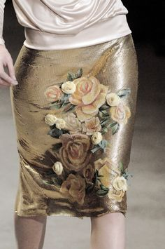 John Galliano skirt.