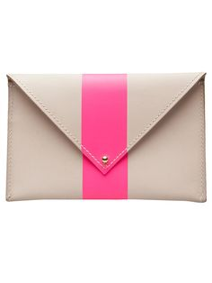This Clare Vivier coin purse is just the right size for a quick trip to Starbuck's or the store. Plus it has just the perfect touch of pink. From Farfetch.