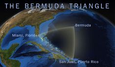 The Bermuda Triangle, a region of the western part of the North Atlantic Ocean defined by points in Bermuda, Florida and Puerto Rico, has a long-standing reputation for mysteriously swallowing boats, ships and even airplanes. Some people even claim that it contains a wormhole into another dimension, while others believe that the area is a UFO hotspot and that aliens are abducting the lost sea vessels
