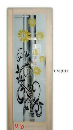 Etched Glass Door, Glass Etching, Glass Design, Glass Door, Door Glass Design, Doors