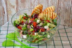 Sprawdź to, zjedz to! Cooking Videos, Guacamole, Cobb Salad, Salads, Ethnic Recipes, Food, Diet, Essen, Meals
