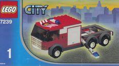 Legos fire truck instructions