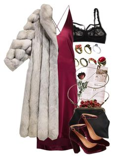 """a Bit of Burgundy Goes a Long Way"" by aurorakonstance ❤ liked on Polyvore featuring ASOS, Hanky Panky, Dion Lee, INC International Concepts, Mimi Berry and Carvela Kurt Geiger"