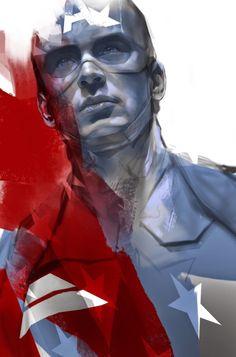 Captain America - Ben Oliver