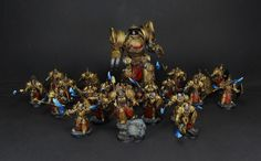 30K - Adeptus Custodes - Provided by David Roberts of Dave Paints