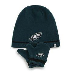 Mens Philadelphia Eagles '47 Brand Midnight Green Incline Cuffed Beanie