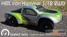 • HBX - IRON Hammer 1/12 2WD -  Speed test •