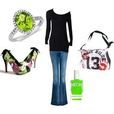 zombie wear, created by stepherdbepher on Polyvore