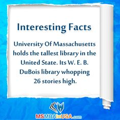 #InterestingFacts Via http://www.msmbainusa.com/