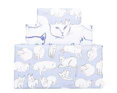 Kitty cat gift wrap!