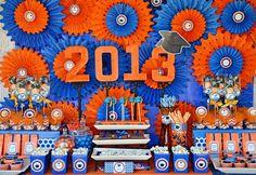 Grad party decor