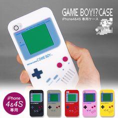 GAME BOY!? case for iPhone 任天堂ゲームボーイみたいなiPhoneケース