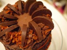 The best ever Chocolate Orange Cake recipe. Layers of moist chocolate orange sponge, sandwiched with chocolate orange buttercream icing. Terrys Chocolate Orange Cake, Terry's Chocolate Orange, Orange Recipes, Occasion Cakes, Recipe For 4, Love Cake, Let Them Eat Cake, Baked Goods, Cake Recipes