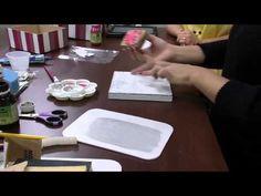 Mulher.com 05/09/2014 - Caixa com transparência por Marisa Magalhães Parte 1 - YouTube