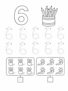 Kindergarten Math Worksheets, Alphabet Worksheets, Preschool Learning, Worksheets For Kids, Toddler Activities, Preschool Activities, Counting For Kids, Barbie Coloring Pages, Learn To Count