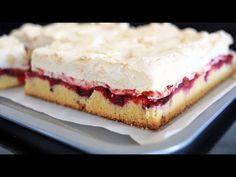 Proste ciasto ze śliwkami 💜💜 - YouTube Sweet Bakery, Cake Decorating Tutorials, Sweet Tooth, Cheesecake, Pie, Cookies, Make It Yourself, Food, Bread