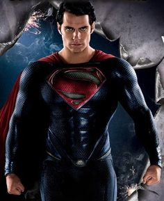 Henry Cavill as Superman The Man of Steel