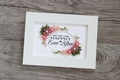 QUILLING - HAPPILY