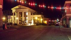 Daily Virginia Trivia sponsored by Simplicity VoIP.  Fun Facts about Virginia.  Fincastle, Virginia at Christmastime.