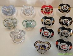 Blinged Out Binky's/Pacifiers
