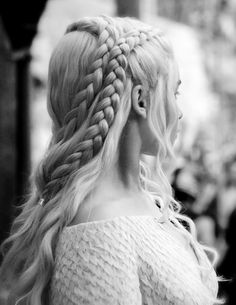 It's like they're making the hairstyles more and more impossible to braid with each season just to spite me.