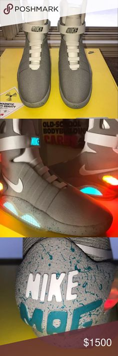 Air Mags(Back 2 The Future ) Used : Great Condition comes with everything.