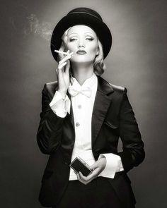 Vintage Menswear on a Whimsey Glamourpuss