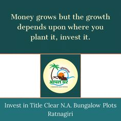 Apla Ghar - Title Clear N.A. Plots in Ratnagiri Good for investment