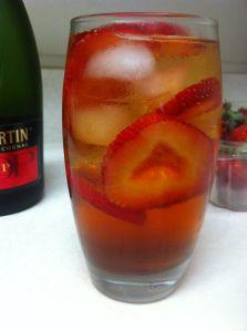 Aphrodisiac Strawberry Drink