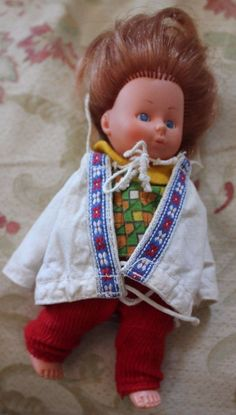 """Doll 6"""" tall moveable arms & legs collectable 0.99+2.8"""