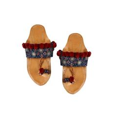 Simple, comfortable, yet so perfect with Indian wear, Kolhapuris make great additions to any bride's footwear lineup. Wedding Wear, Wedding Shoes, Bridal Flats, Blue Wedges, Shoe Wardrobe, Vogue India, T Strap Sandals, Bollywood Celebrities, Bridal Looks