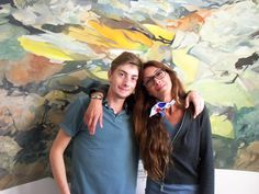 Hugo and Marina. Flow, Art Projects, Drawings, Painting, Painting Art, Sketches, Paintings, Drawing, Painted Canvas