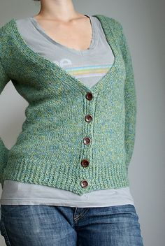Ravelry: Project Gallery for Emerald Isle Cardigan pattern by Melissa Wehrle