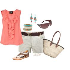 cute for a casual weekend in the hot summer of D.C.