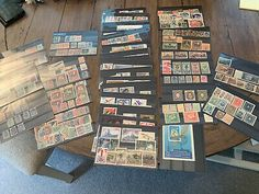 russia stamps collection. Loads Of Stamps On 38 Stock cards  | eBay German Stamps, Album Book, Stamp Collecting, Russia, Cards, Ebay, Collection, Maps, Playing Cards