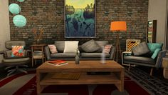 #sims3 LIVING ROOM