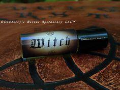 WITCH Magickally Luxurious Mini RollOn Premium by DewberrysHerbal, $16.95