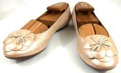 Clarks Artisan ActiveAir Shoes Womens 9 M Beige Leather Ballet Flats #Clarks #BalletFlats
