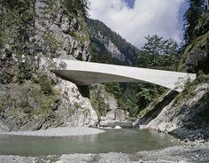 marte marte architekten curve and twist schanerloch bridge
