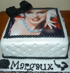 Marilyn Monroe Picture Cake