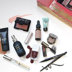 Stuck on a gift idea for the makeup junkie in your life? Here are all her favorite products in one sleek box. #Gift #Beauty #products | See more about Beauty Products, Lipsticks and Gift Ideas.